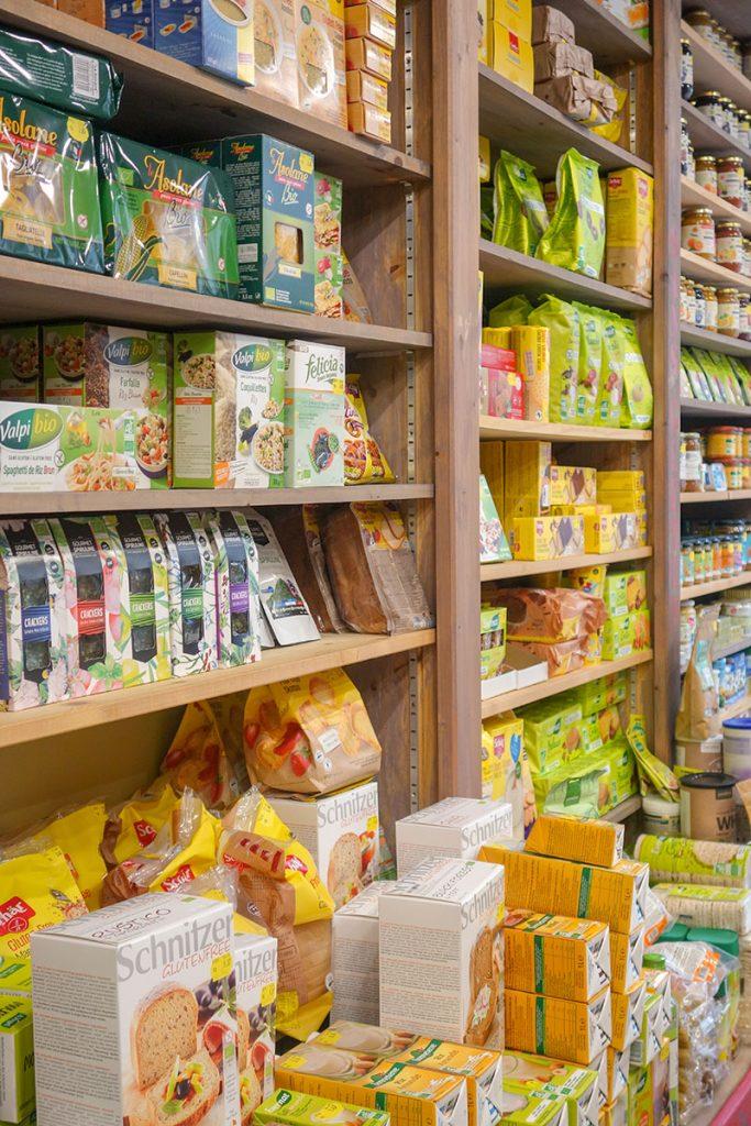 Magasin bio Blois Nature : céréales et lait végétal