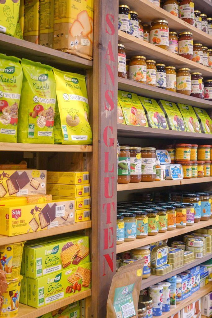 Magasin bio Blois Nature : produits sans gluten