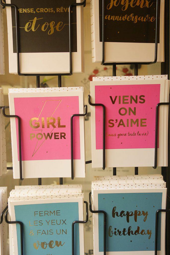 Cartes postales tendances boutique [la suite…] à Blois