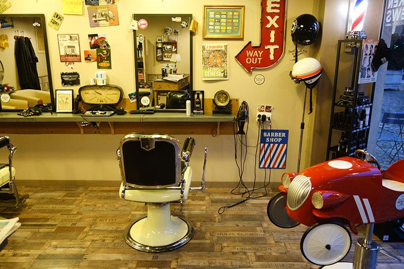 K'Pilipa : coiffeur/visagiste et barber shop à Blois dans un décor vintage
