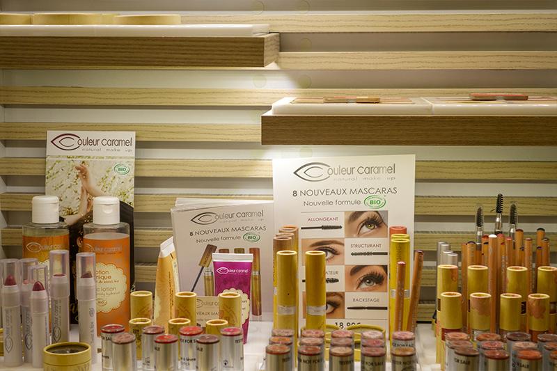 Institut de beauté Kpilia à Blois : produits bio Couleur Caramel