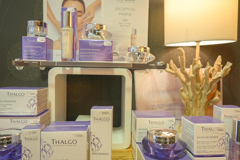 Institut de beauté Kpilia à Blois : produits Thalgo